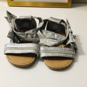 Other - Baby girl silver sandals